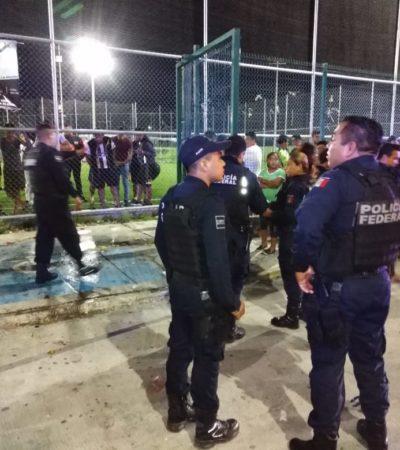 SEGUIMIENTO | SE CONSUMA OTRA EJECUCIÓN: Fallece en el hospital el hombre que fue atacado en el campo de futbol en Cancún