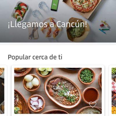 Uber Eats ya está en línea en Cancún