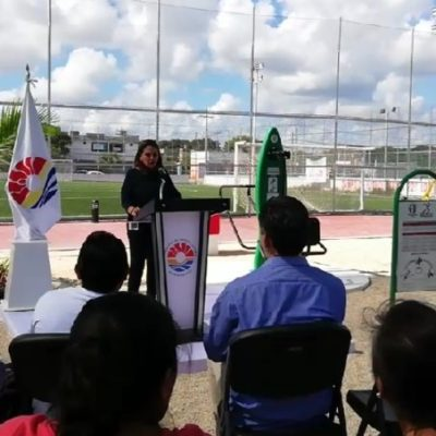 """""""TODOS LOS DÍAS REZO PORQUE SE HAGA"""": Sin presupuesto ni lugar definido aún, Mara Lezama da a conocer que construirá una ciudad deportiva en Cancún"""