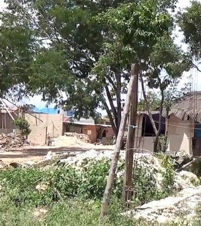 CRECE INVASIÓN DE IN HOUSE: 'Paracaidistas' se adueñan de 5 hectáreas de los ejidatarios de Playa del Carmen