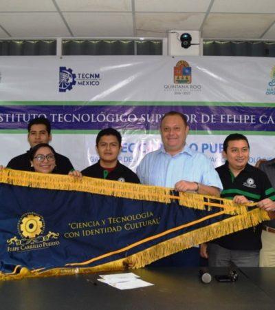 El Instituto Tecnológico Superior de FCP recibió el galardón nacional 'Mitekua' por proyectos innovadores tecnológicos