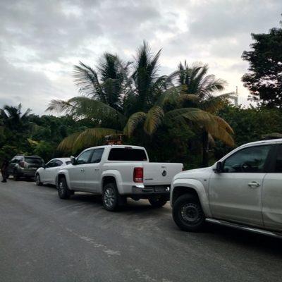 Aseguran PGR hotel de Tulum; condenan intimidante operativo