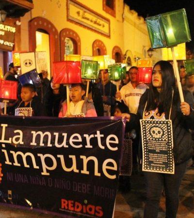 RECLAMAN ACTIVISTAS: Ni un solo infante 'debe morir en Chiapas por la ineficiencia y corrupción del sistema de salud'
