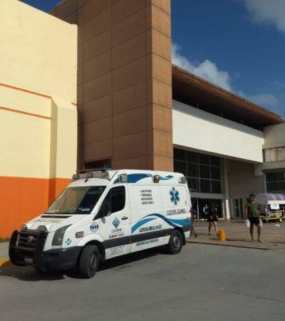 Fallece de un infarto en centro comercial de Playa del Carmen