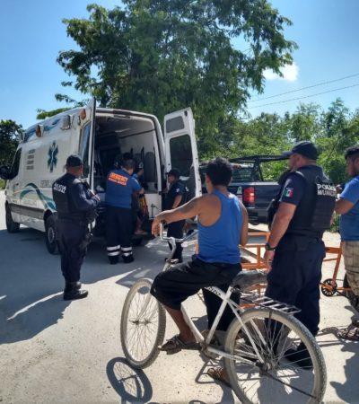Machetean a invasor en 'Las Torres' de Playa del Carmen