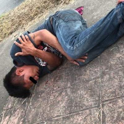 Vecinos detienen y golpean a presunto ladrón en Chetumal
