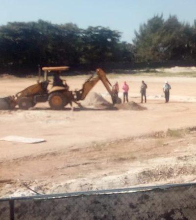 Pese a suspensión ordenada por un juez, reactivan trabajos de construcción en playa Langosta