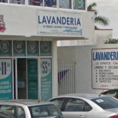Roban en lavandería de Cancún y dejan sin uniformes a un policía federal