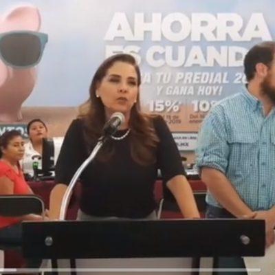 Dice Mara Lezama que no hubo desfile conmemorativo de la Revolución Mexicana en Cancún porque Remberto Estrada no dejó presupuesto