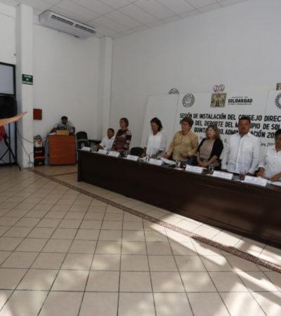 Formalizan a Claudia Pérez Macín al frente del Instituto del Deporte de Solidaridad