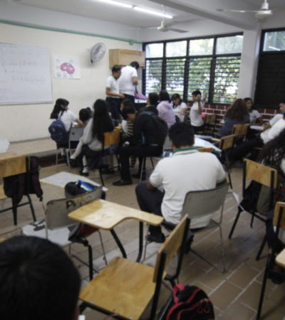 EL CECYTE, EN PARO ESCALONADO: Maestros  y trabajadores reclaman al Gobernador por incumplimiento de aumento salarial