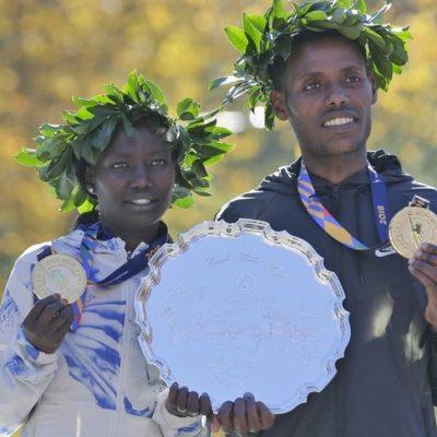 Dominan atletas africanos, de Kenia y Etiopía, el Maratón de Nueva York