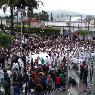 Marchan en Veracruz por crimen de Valeria; lucharé por ella junto con AMLO, dice la diputada Medel