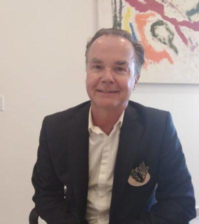 """""""El Tren Maya es un gran proyecto"""" , asegura Mark Carney, ex cónsul de Reino Unido en Cancún"""