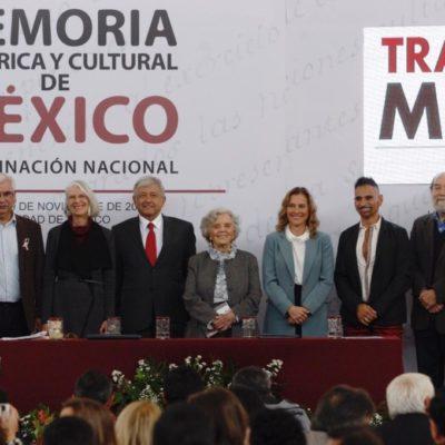 Creará AMLO coordinación de Memoria Histórica y Cultural de México; será encabezada por su esposa