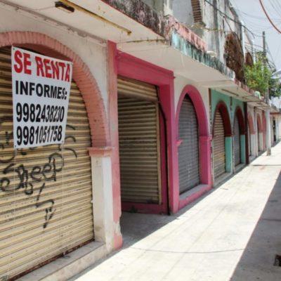 Todavía no hay inventario para ubicar el número de establecimientos en abandono en el centro de Cancún, aceptan autoridades de BJ
