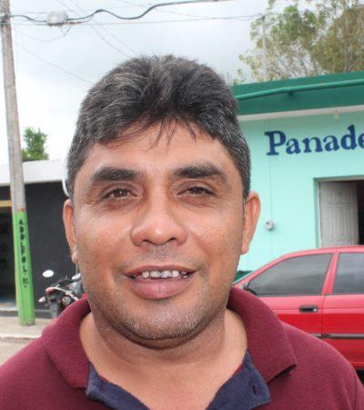Advierte Miguel Ángel Núñez, comisario ejidal, no comprarle tierras al ex delegado, Víctor Angioni porque no cuenta con documentos válidos