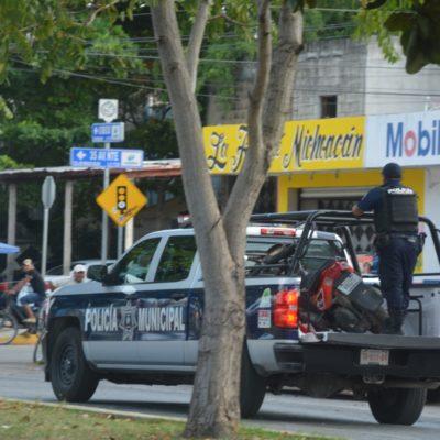 Capturan a ladrones de motocicletas en Playa del Carmen