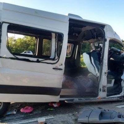 Mueren 5 excursionistas yucatecos en accidente carretero en Tabasco; hay 3 sobrevivientes