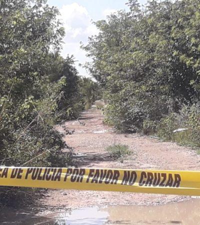 Hallan osamenta en Cozumel; sería de hombre levantado en junio pasado