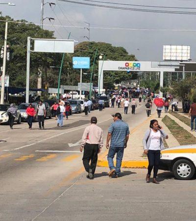 Radicaliza CNTE protestas; bloquean accesos carreteros en diversas regiones de Chiapas