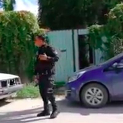 ATENTAN CONTRA PERIODISTA EN TULUM: Lanzan bombas Molotov contra vehículo y domicilio de Héctor Valdez