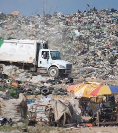 ENTRA GOBIERNO ESTATAL AL QUITE EN CHETUMAL: Ante la crisis por la basura, apoyarán con 10 volquetes al Ayuntamiento de Othón P. Blanco para regularizar el servicio