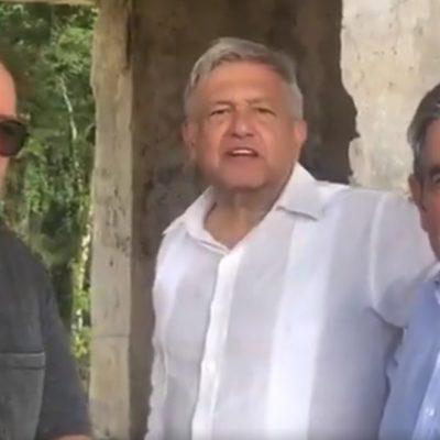 Descansa AMLO en 'La Chingada' con amigos, previo a su toma de posesión el próximo sábado