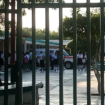 ALARMA EN BACHILLERES DE CHETUMAL: Dos alumnos se drogan dentro del plantel y son rescatados con sobredosis