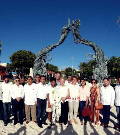 Celebran 116 aniversario de Playa del Carmen
