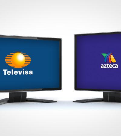 REGALO DEL ADIOS PARA TELEVISORAS: Renuevan concesión de Televisa y TV Azteca por 20 años