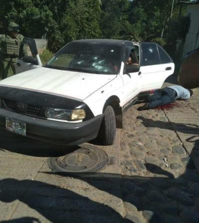 Responden policías de Chiapas a disparos de presuntos delincuentes y matan a dos agresores