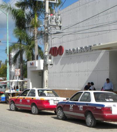 Cae líder taxista de Escárcega, Campeche, con 600 dosis de piedra de cocaína