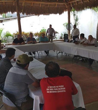 Presentan Tren Maya en Carrillo Puerto