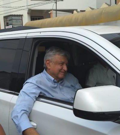 Atestiguará AMLO unción de Adán Augusto López Hernández como gobernador de Tabasco