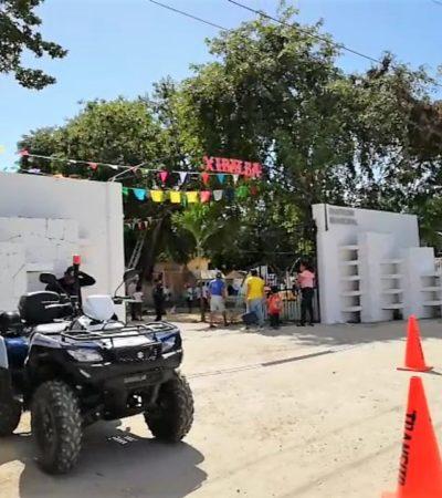 """Con el festival """"Xibalbá"""", cuerpos de rescate en Solidaridad realizan el operativo de seguridad 'Fieles Difuntos'"""