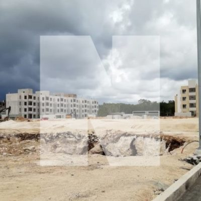 CONSTRUCTORA RELLENA UN CENOTE: Ayuntamiento de Solidaridad suspende obra de ARA en Playa del Carmen
