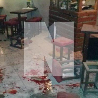 EXPLOSIÓN EN BAR DE PUERTO MORELOS: Lanzan granada contra el 'Bara Bara' con saldo de al menos dos heridos