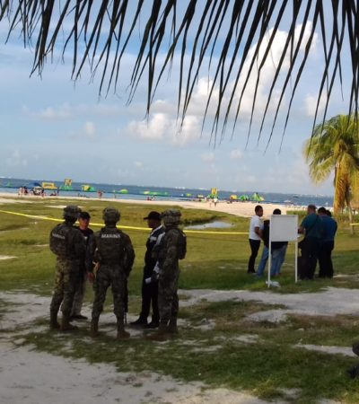 EJECUTADO EN PLAYA LANGOSTA: Matan a balazos a un empleado y dejan a otro herido con cuchillo en plena Zona Hotelera de Cancún