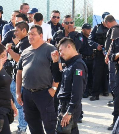 Policías envalentonados contra la autoridad, pero no contra la delincuencia, reprocha Martínez Arcila tras revuelta en Cancún