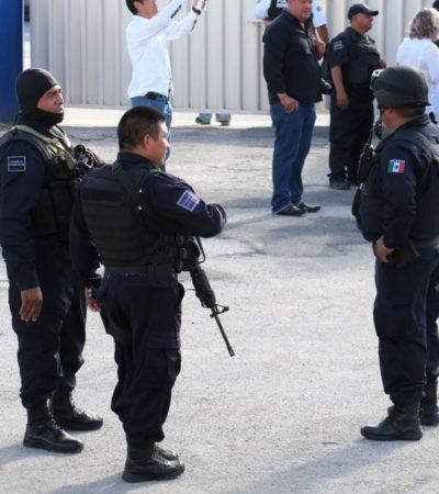 PRESENTAN DENUNCIAS CONTRA POLICÍAS: Acusan a agentes en paro de motín y sedición en Cancún