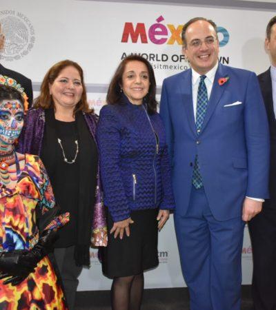 Inaugura Quintana Roo Pabellón México en Feria Internacional de Turismo