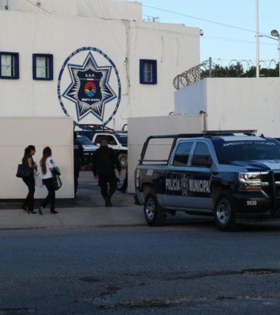DAN POR TERMINADO PARO DE POLICÍAS EN CANCÚN: Reinician labores agentes inconformes; Pérez Abarca continúa al frente de la corporación, al menos por ahora