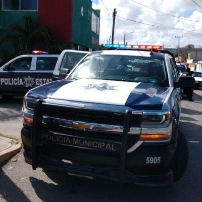BALEAN A UN HOMBRE EN LA RUTA 4: Otro herido por ataque mientras una parte de los policías de Cancún mantienen un paro de labores