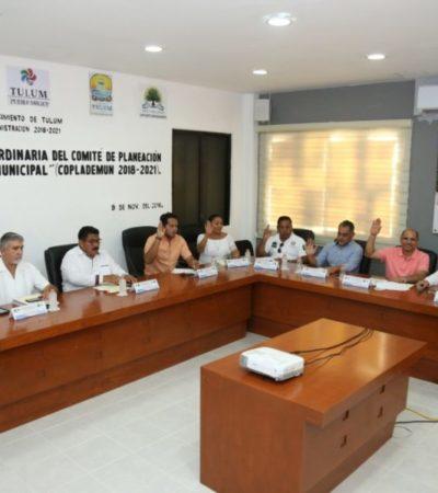 Aprueba Coplademun la actualización del Programa de Obras y Acciones 2018 en Tulum