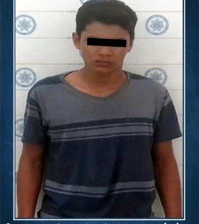 Narcomenudista con 74 bolsitas de marihuana, la primera detención de la Policía Militar en Cancún