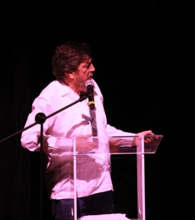 Presentan el proyecto del Tren Maya en Playa del Carmen ante empresarios, ciudadanos y políticos