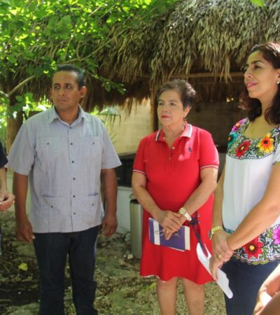 Realiza Senadora Marybel Villegas visita a Carrillo Puerto