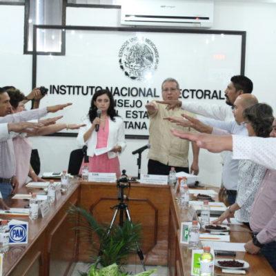 Instala el INE su consejo local para iniciar con la organización del proceso electoral 2019 en QR