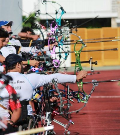 Inicia la Copa Caracol de Tiro con Arco en Playa del Carmen, donde más de 50 atletas y paratletas de todo el país participan